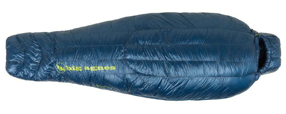 Big Agnes Flume UL 30 sleeping bag top view